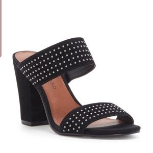 Nwt lucky brand leather studded sandals